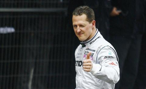 Michael Schumacher - Shanghai - 18-04-2010 - Michael Schumacher, Bunte magazine: