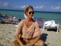 Elena Santarelli - Miami - 31-05-2012 - Elena Santarelli e Bernardo Corradi: coppia in forma a Miami