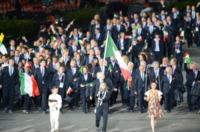 Valentina Vezzali - Londra - 27-07-2012 - Olimpiadi Londra: Valentina Vezzali è la portabandiera italiana