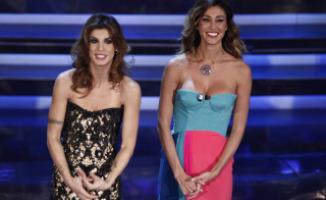 Belen Rodriguez, Elisabetta Canalis - Sanremo - 14-02-2012 - Le star più cliccate dell'anno: Belen prima, Canalis ultima