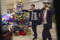 Boris Johnson, David Cameron - Londra - 07-12-2012 - Cameron-Johnson: sfida a colpi di... ballo