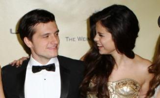 Selena Gomez, Josh Hutcherson - Los Angeles - 13-01-2013 - Selena Gomez e Josh Hutcherson: è nato un flirt ai Golden Globes?