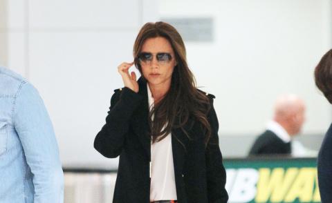 Victoria Beckham - New York - 08-05-2013 - Vic Beckham, la più chic in aeroporto secondo British Airways
