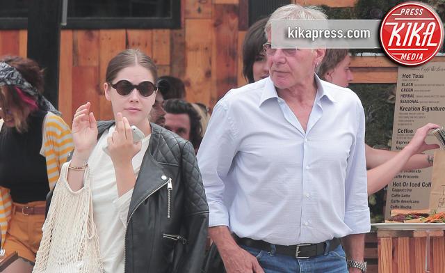 Georgia Ford, Harrison Ford - Los Angeles - 17-08-2013 - Il dramma di Harrison Ford: