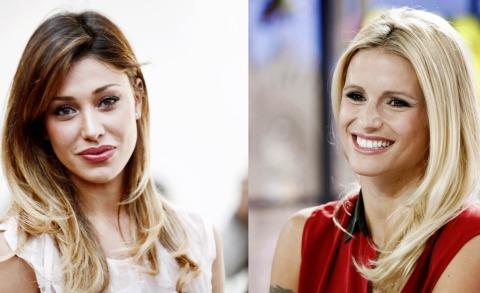 Belen Rodriguez, Michelle Hunziker - Milano - 23-08-2013 - Michelle Hunziker e Belen, la nuova coppia di Striscia