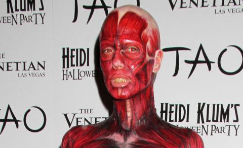 Heidi Klum - Las Vegas - 30-10-2011 - Ad Halloween le star si vestono così