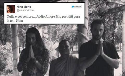 Massimiliano Dossi, Nina Moric - Los Angeles - 06-08-2013 - Nina Moric lascia Massimiliano Dossi su Twitter