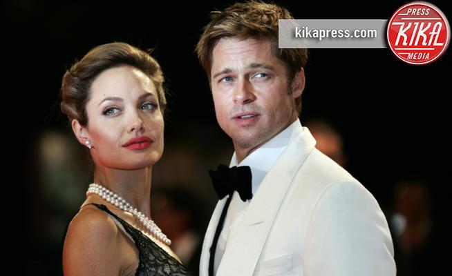 Angelina Jolie, Brad Pitt - Venezia - 02-09-2007 - Brad Pitt risponde alle accuse della Jolie: