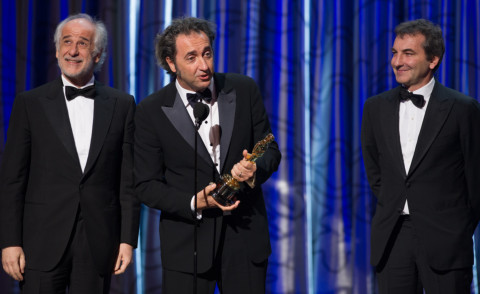 Toni Servillo, Paolo Sorrentino, Nicola Giuliano - Hollywood - 02-03-2014 - 86th Oscar: And the Oscar Goes To: The Great Beauty