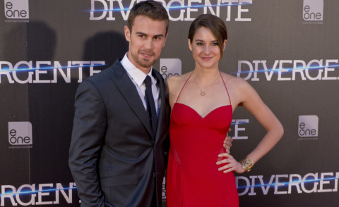 Theo James, Shailene Woodley - Madrid - 03-04-2014 - Woodley-James: quando il set e' galeotto