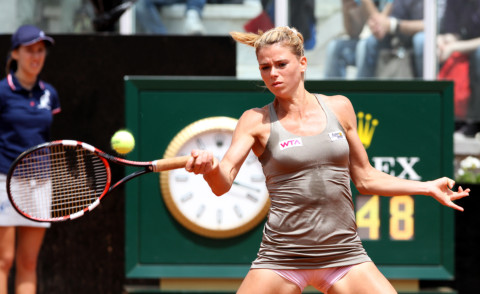 Camila Giorgi - Roma - 13-05-2014 - Internazionali di Tennis: esce Camila Giorgi