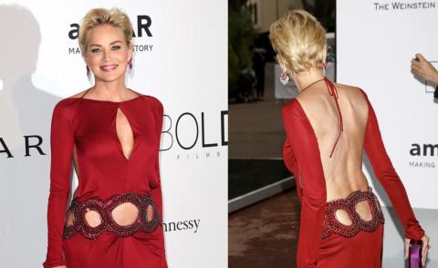 Sharon Stone - Cannes - 23-05-2014 - Sharon Stone come Dorian Gray: il fascino non ha età