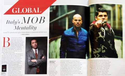 Articolo Variety - Los Angeles - 08-08-2014 - La Mentalità Mafiosa porta la tv italiana a Hollywood