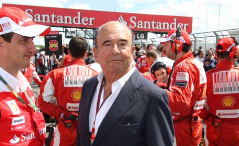 Emilio Botin - 11-07-2010 - Morto a Madrid Emilio Botin, banchiere e sponsor della Ferrari
