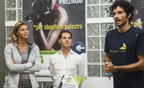 Marco Bianchi, Martina Colombari - 18-09-2014 - Martina Colombari-Marco Bianchi: come essere sempre in forma