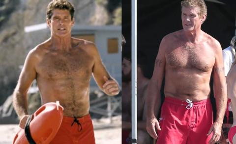David Hasselhoff - Gli attori di Baywatch: com'erano ieri e come sono oggi