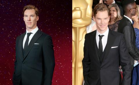 Statua Benedict Cumberbatch, Benedict Cumberbatch - 21-10-2014 - Benedict Cumberbatch, che bella cera al Madame Tussaud's!