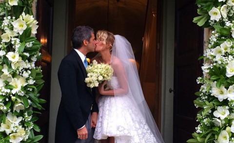 Alessia Marcuzzi ha sposato Paolo Calabresi Marconi