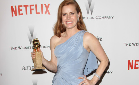 Amy Adams - Beverly Hills - 11-01-2015 - Golden Globes 2015: il party di Netflix