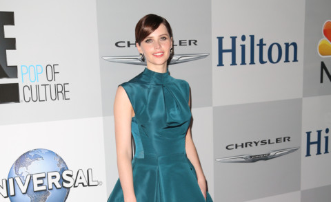 Felicity Jones - Los Angeles - 12-01-2015 - Golden Globes 2015: il party della NBC