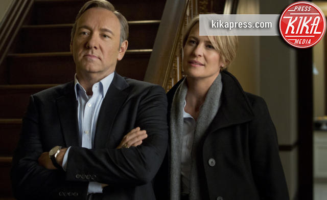 House of cards, Robin Wright, Kevin Spacey - Washington - 23-08-2016 - La sesta stagione di House of Cards sarà l'ultima