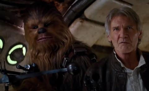 Chewbecca, Star Wars Il Risveglio della Forza, Harrison Ford - Los Angeles - 17-04-2015 - Mtv Movie Awards 2016: Star Wars domina le nomination