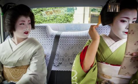 Maiko, Geisha - Kyoto - 27-08-2013 - Kyoto: reportage nel mondo segreto delle Geishe