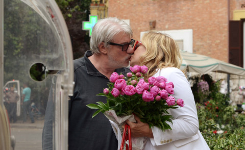 Simona Izzo, Ricky Tognazzi - Roma - 20-05-2015 - Anche Ricky e Simona tra le star vittime dei topi d'appartamento