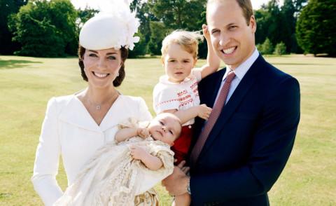 Principessa Charlotte Elizabeth Diana, Principe George, Principe William, Kate Middleton - 09-07-2015 - Battesimo Charlotte: le foto di Mario Testino