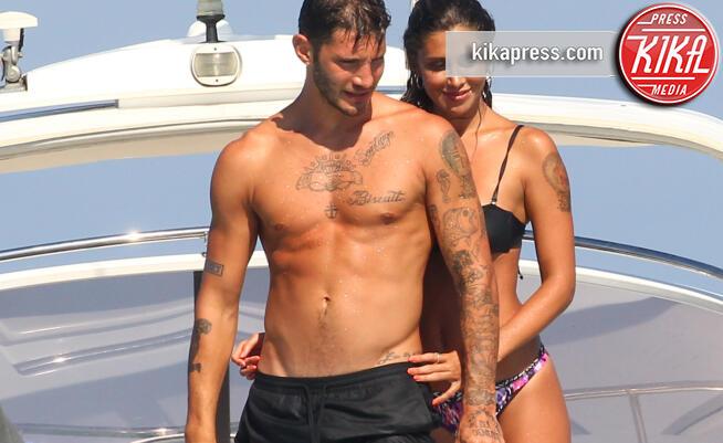Stefano De Martino, Belen Rodriguez - Formentera - 29-07-2015 -