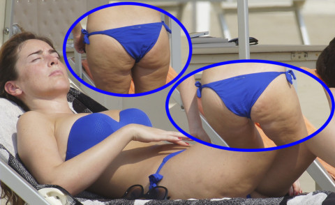 Maria Elena Boschi - Marina di Pietrasanta - 09-08-2015 - Estate 2019: lo spauracchio cellulite!