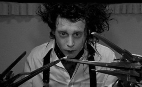 Johnny Depp - Hollywood - 12-08-2015 - Edward mani di forbice fa 25 anni, le curiosità sul film