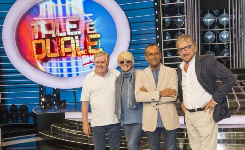 Loretta Goggi, Gigi Proietti, Claudio Lippi, Carlo Conti - Roma - 09-09-2015 - Carlo Conti presenta la quinta edizione di Tale e quale show