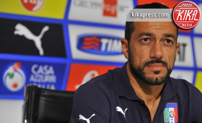 Fabio Quagliarella - Coverciano - 06-10-2015 - Incubo stalker: Fabio Quagliarella esce dal tunnel