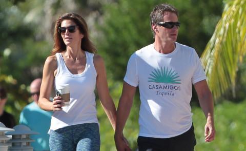 Rande Gerber, Cindy Crawford - Miami - 06-10-2015 - Lo sport? Decisamente è meglio in coppia...