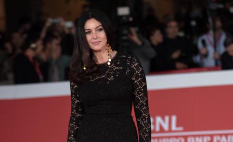 Monica Bellucci - Roma - 20-10-2015 - Pizzo nero, un classico sul tappeto rosso