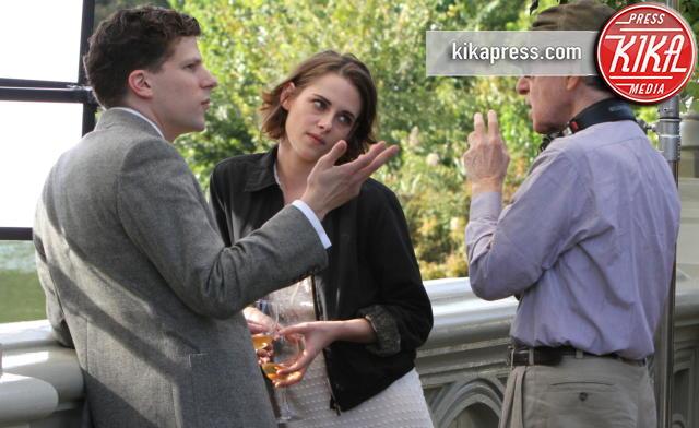 Jesse Eisenberg, Kristen Stewart, Woody Allen - New York - 21-10-2015 - Cannes 2016: Woody Allen aprirà il festival