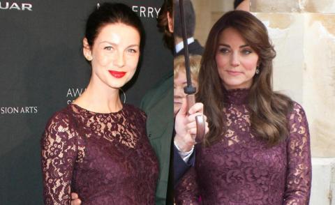 Caitriona Balfe, Kate Middleton - 22-10-2015 - Chi lo indossa meglio: Kate Middleton o Caitriona Balfe?