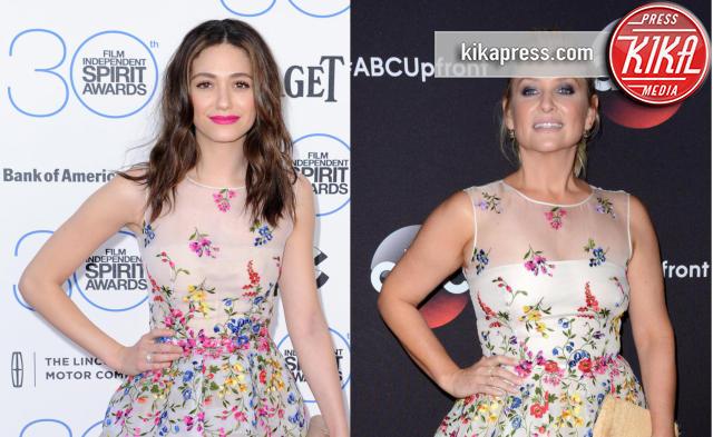 Emmy Rossum, Jessica Capshaw - 19-11-2015 - Chi lo indossa meglio: Emmy Rossum o Jessica Capshaw?