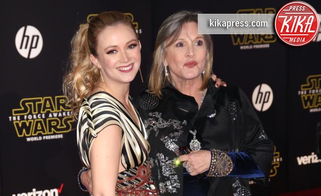 Billie Lourd, Carrie Fisher - Hollywood - 15-12-2015 - Billie Lourd, prima intervista dalla morte di Carrie Fisher