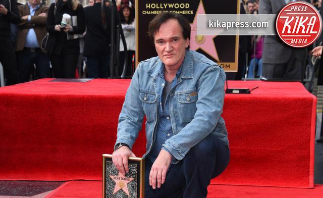 La stella di Tarantino brilla sulla Walk of Fame