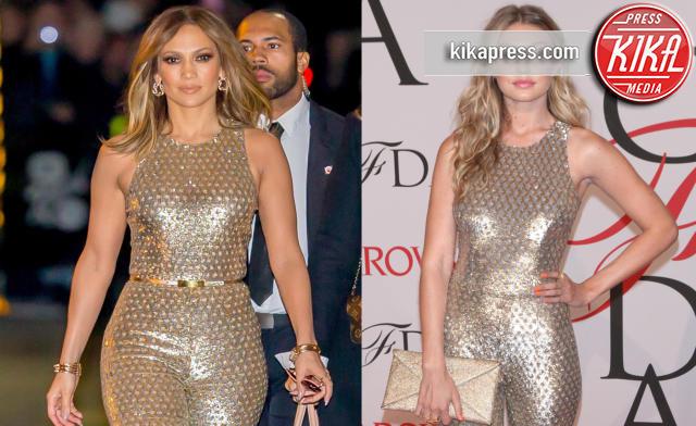 Gigi Hadid, Jennifer Lopez - 07-01-2016 - Chi lo indossa meglio: Jennifer Lopez o Gigi Hadid?