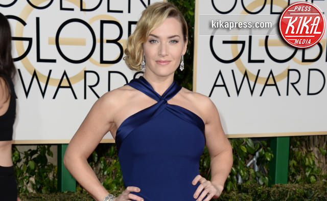 Kate Winslet - Los Angeles - 10-01-2016 - Golden Globe 2016: gli arrivi sul red carpet