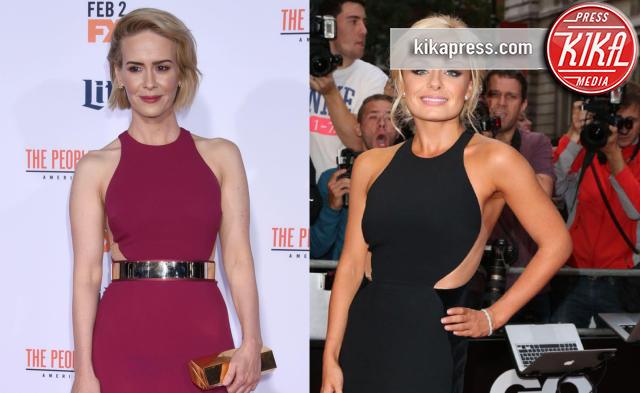Katherine Jenkins, Sarah Paulson - 01-02-2016 - Chi lo indossa meglio: Sarah Paulson o Katherine Jenkins?