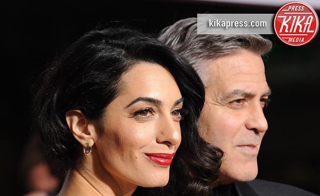 Amal Alamuddin, George Clooney - Westwood - 01-02-2016 - George Clooney e Amal aspettano due gemelli, è ufficiale