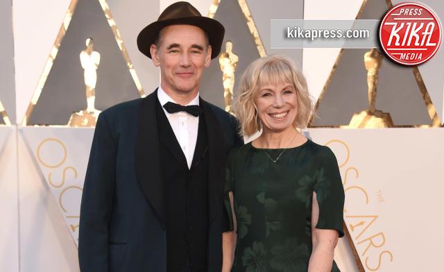 Claire van Kampen, Mark Rylance - Hollywood - 28-02-2016 - Oscar 2016: Mark Rylance Miglior attore non protagonista