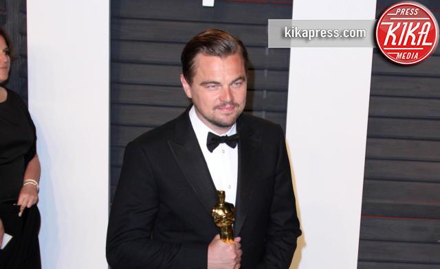 Leonardo DiCaprio - Los Angeles - 28-02-2016 - Oscar 2016: il tradizionale party Vanity Fair