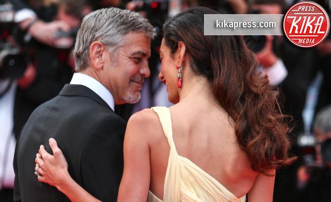 Amal Alamuddin, George Clooney - Cannes - 12-05-2016 - Clooney-Amal e la carica delle star con gemelli in casa