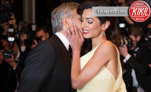 Amal Alamuddin, George Clooney - Cannes - 12-05-2016 - Cannes 2016: la seconda giornata della kermesse