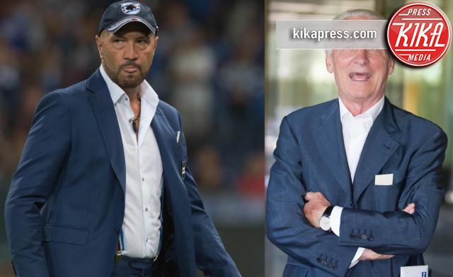 Genova - 23-08-2015 - Walter Zenga scalza il Trap come commentatore dell'Italia